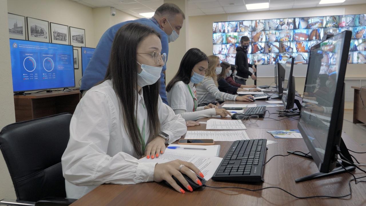 В Курской области для избирателей работают 1111 оффлайн-участков